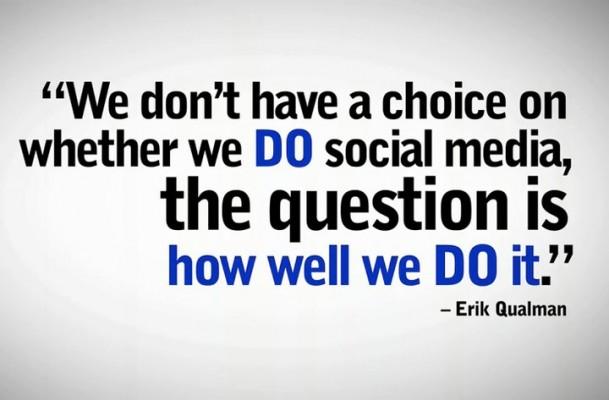 """Erik Qualman """"No tenemos opción de hacer social media…"""""""