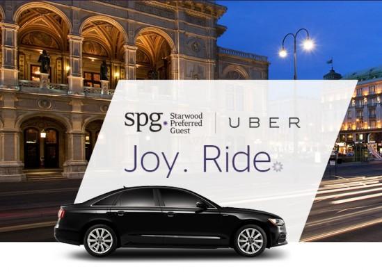 Alianzas estratégicas: Uber y Hoteles SPG
