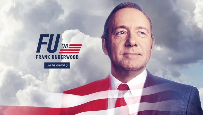 Campaña Política para promocionar cuarta temporada de House of Cards