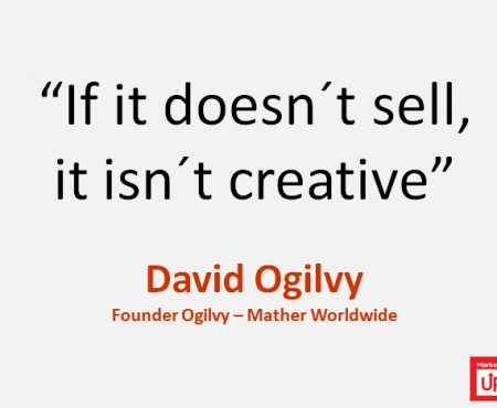 "David Ogilvy ""Si no vende no es creativo"""