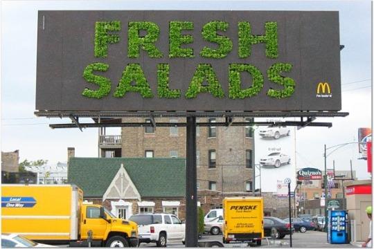 5 Billboards Verdes