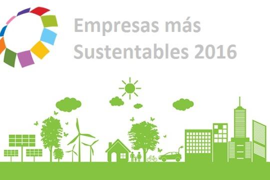 Las 5 empresas más sustentables del 2016