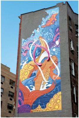 10 Ejemplos de Publicidad con Grafitis
