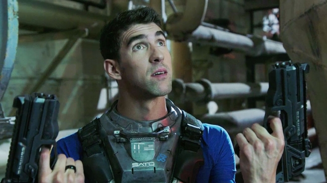 Michael Phelps en comercial de Call of Duty