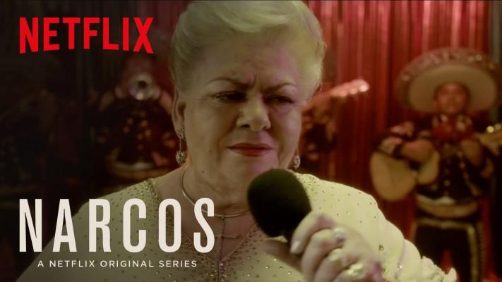 Paquita la del Barrio en Narcos de Netflix