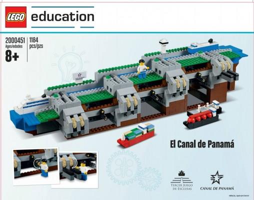 SE VENDERÁ CANAL DE PANAMÁ….EN FIGURAS DE LEGO