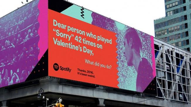 NUEVA campaña de SPOTIFY con insights de sus consumidores