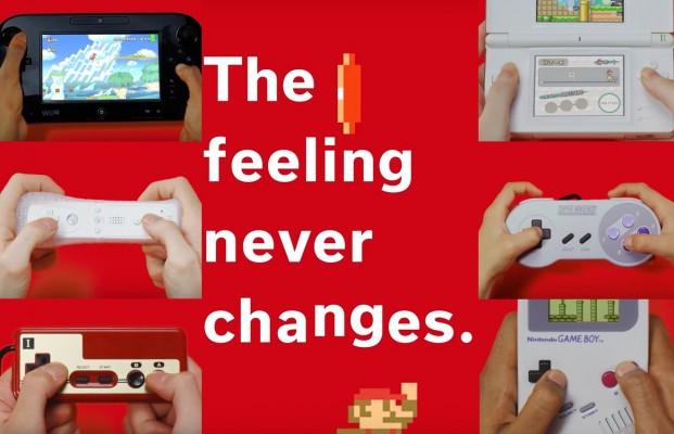 Nuevo video de Nintendo para mostrar la evolución de Mario hasta el Mario Run.