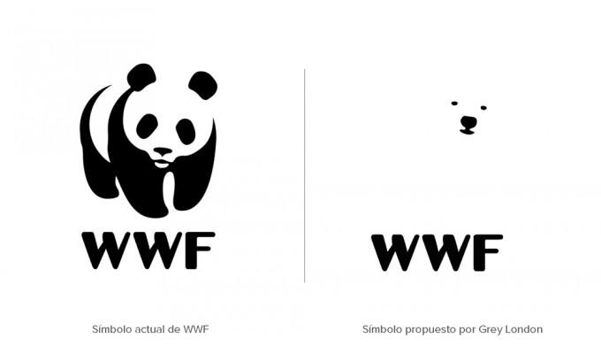 WWF propone cambiar su logo