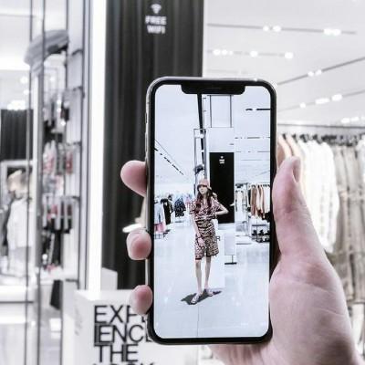 La Aplicación de Realidad Aumentada en Tiendas Zara