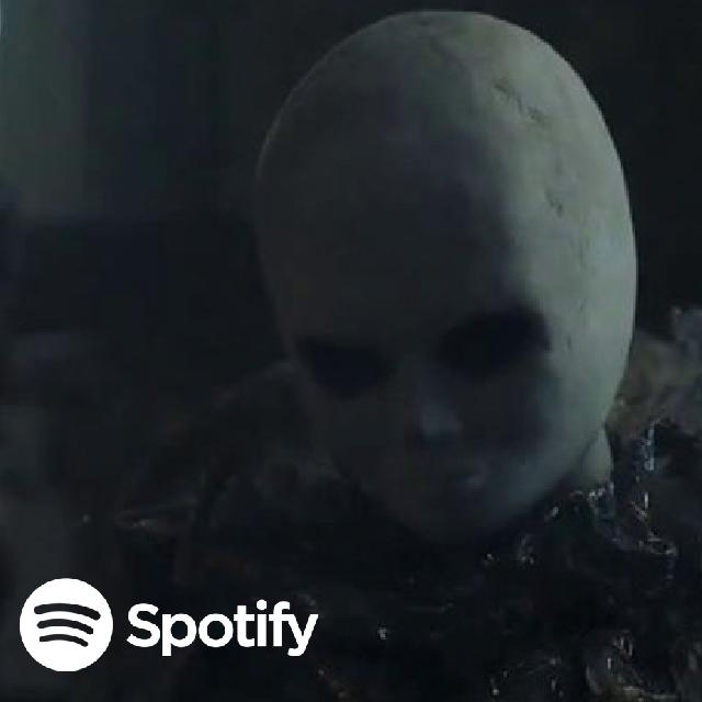 Spotify lanza campaña basada en películas de terror y de acción.