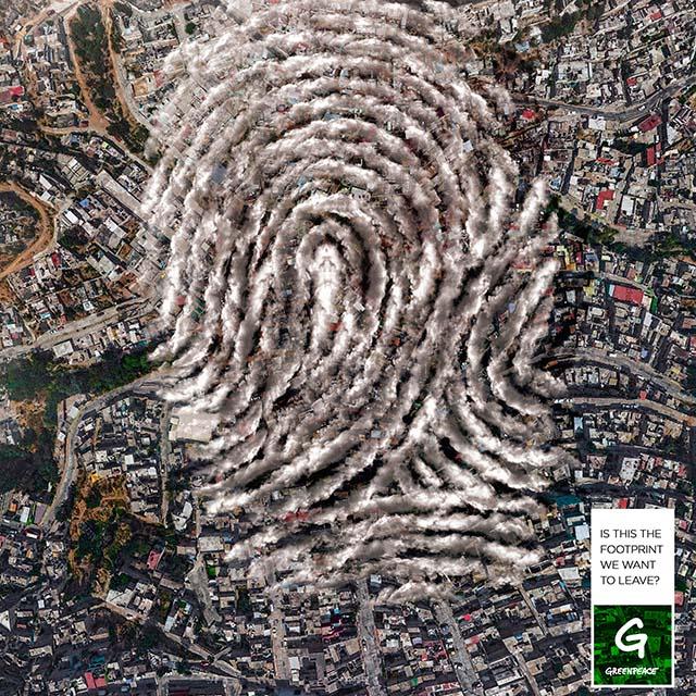 GreenPeace: La huella de la contaminación