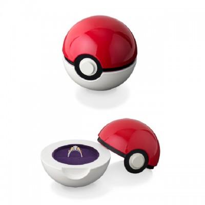 Crean anillos de compromiso y matrimonio para fanáticos de Pokémon