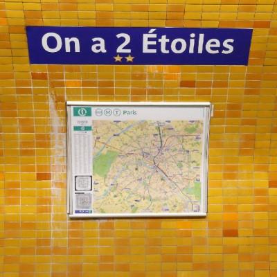 Metro de París celebra al campeón de Rusia 2018