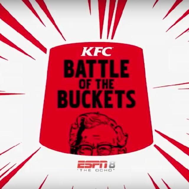 """ESPN y KFC en """"Una batalla inusual"""""""
