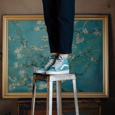 Vans presentó colección inspirada en obras de Van Gogh
