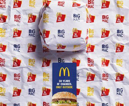 Big Mac cuenta su historia a través de sus envolturas