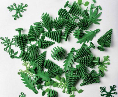"""Lego lanza su gama """"Plantas de plantas"""" hechas de caña de azúcar"""