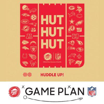 Pizza Hut y su campaña de Touchdown