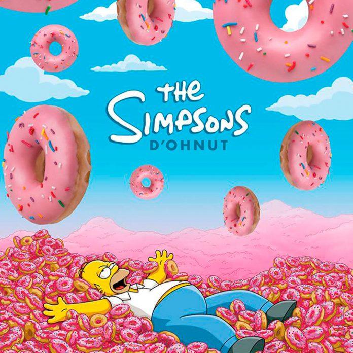 Simpsons Krispy Kreme